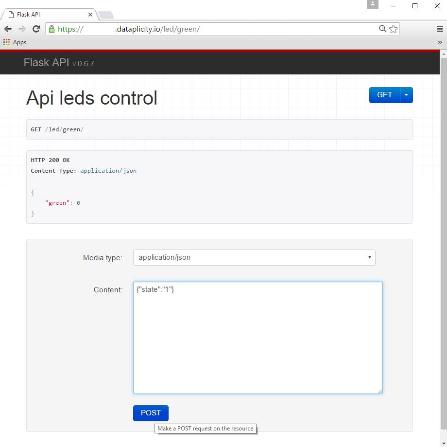 Control Gpios Using Rest Api Wiringpi Gpio Export Testing In Browser