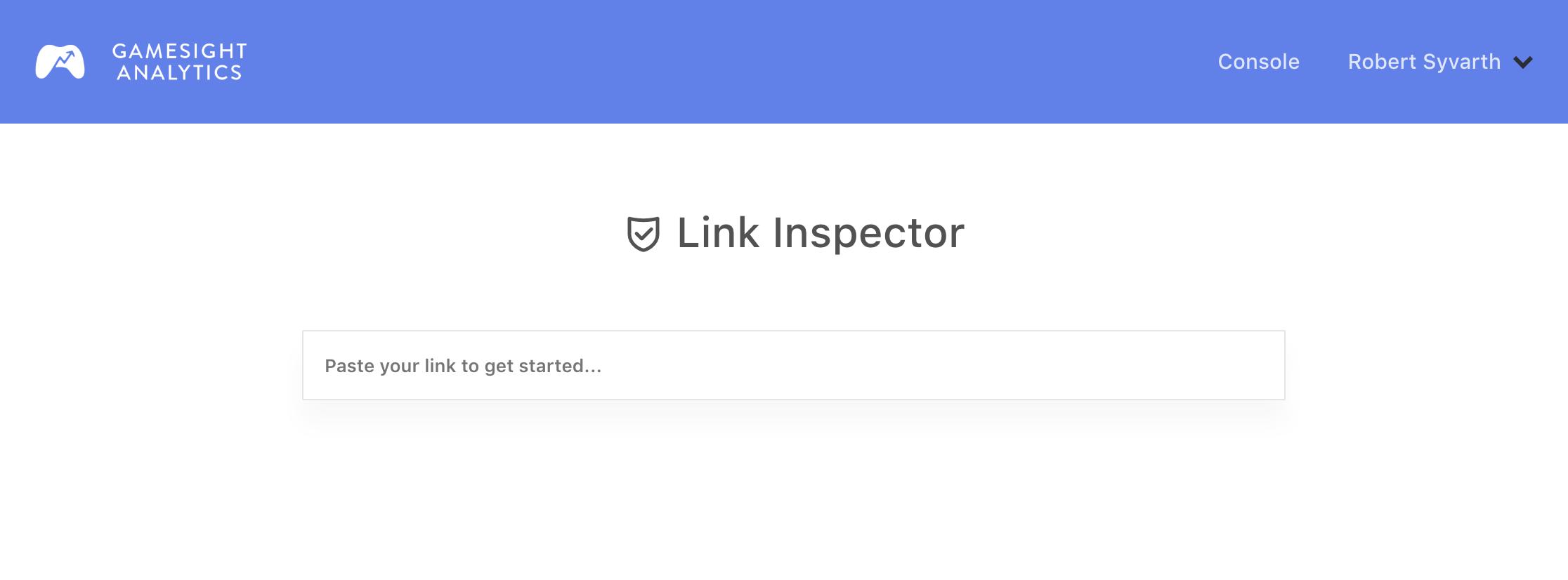 Link Inspector Tool