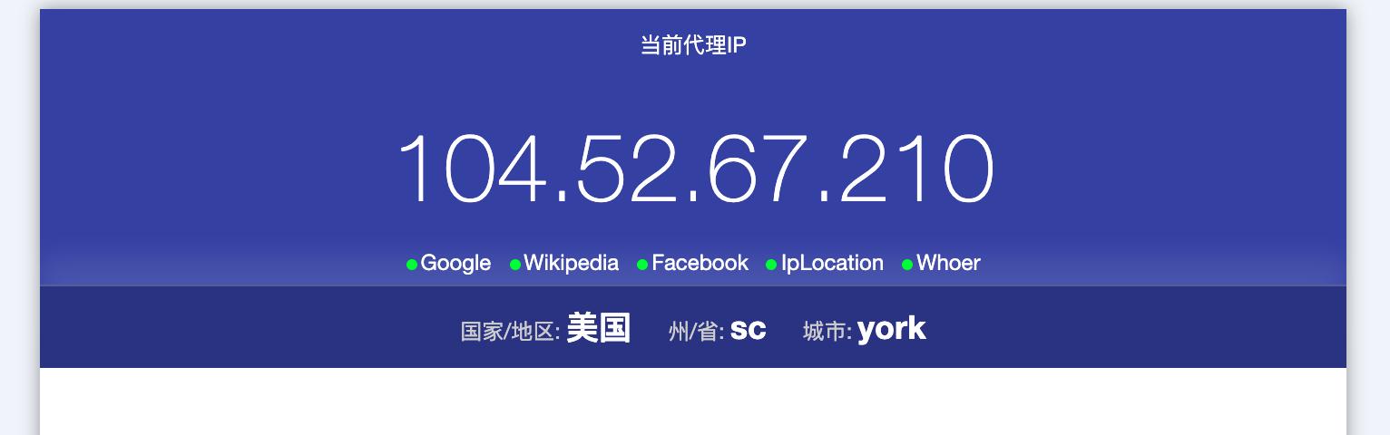 AdsPower - 成功的获取IP开始浏览。
