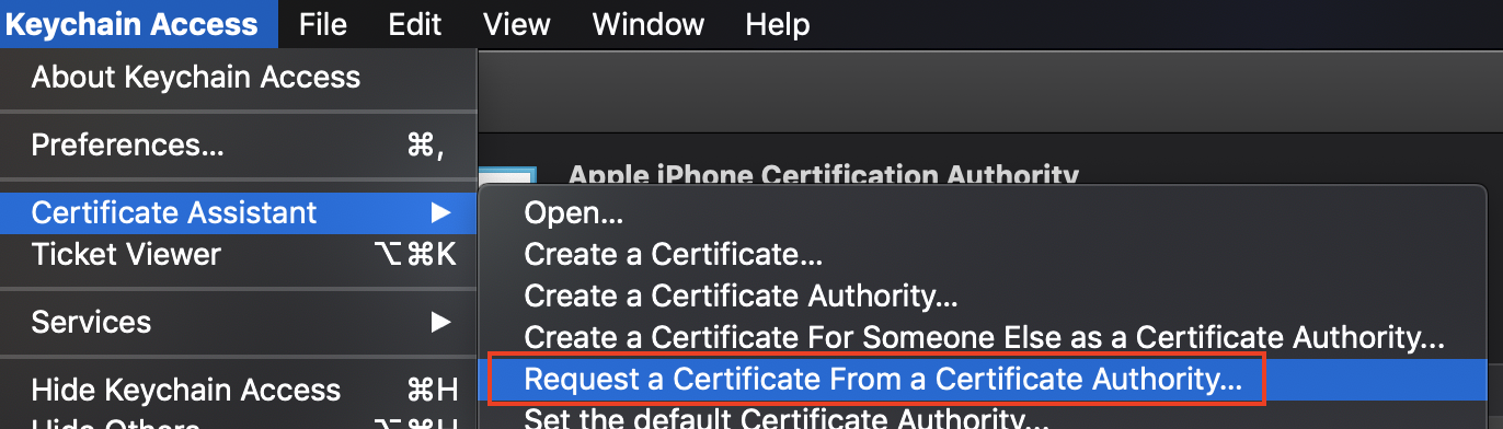 Getting started with Apple Certificates