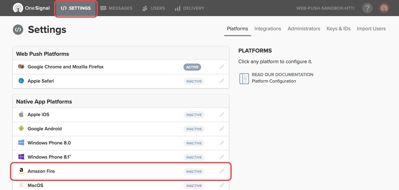 Generate an Amazon API Key