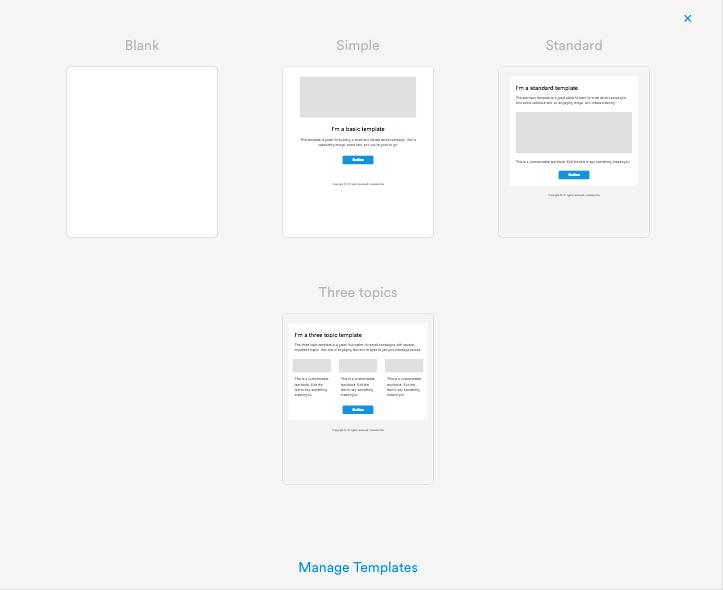 Email templates maxwellsz