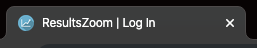 Branded favicon and tab name