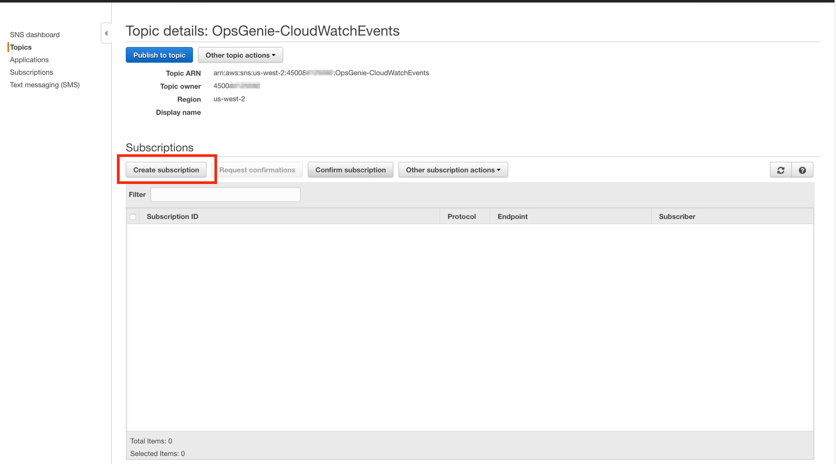Amazon CloudWatch Events Integration
