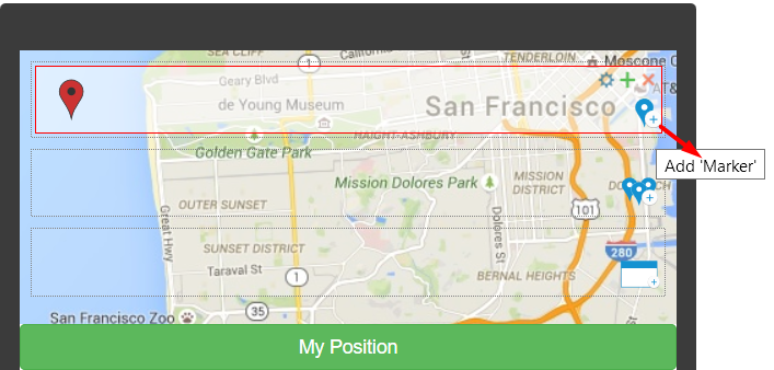 Using the Google Maps Component