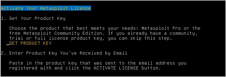 Installing Metasploit Pro