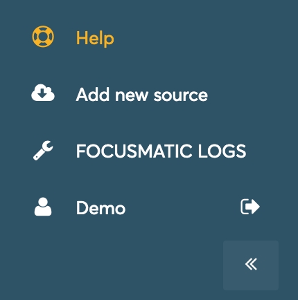 Reducing the size of the sidebar menu