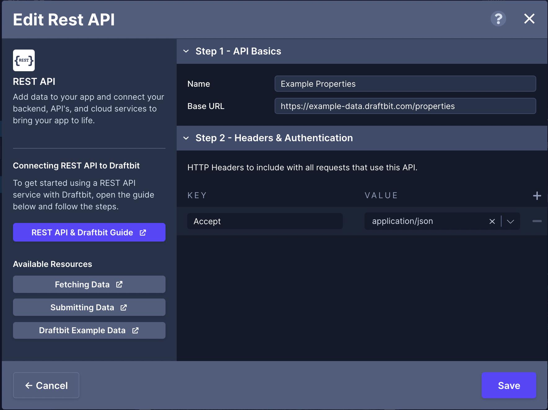 REST API Service
