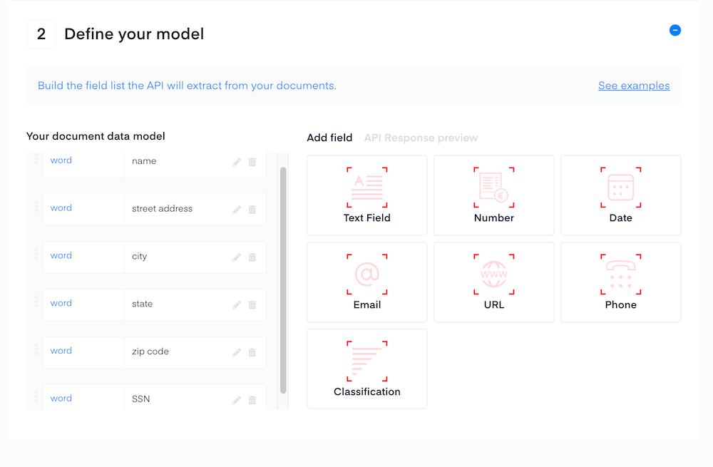 W9 data model