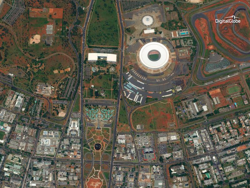 WolrdView-4 Image, Brazil