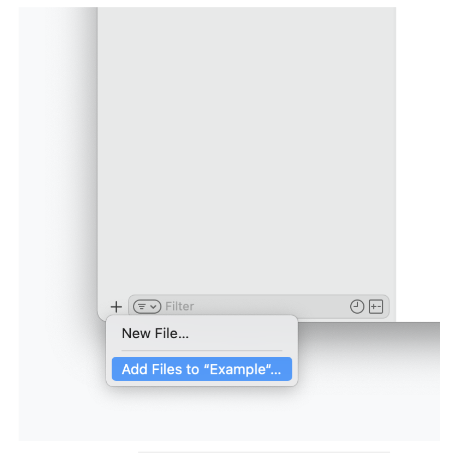 Add Files...
