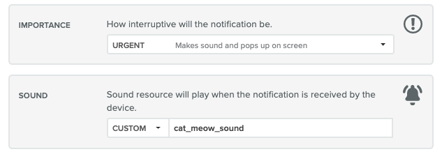 Customize Notification Sounds