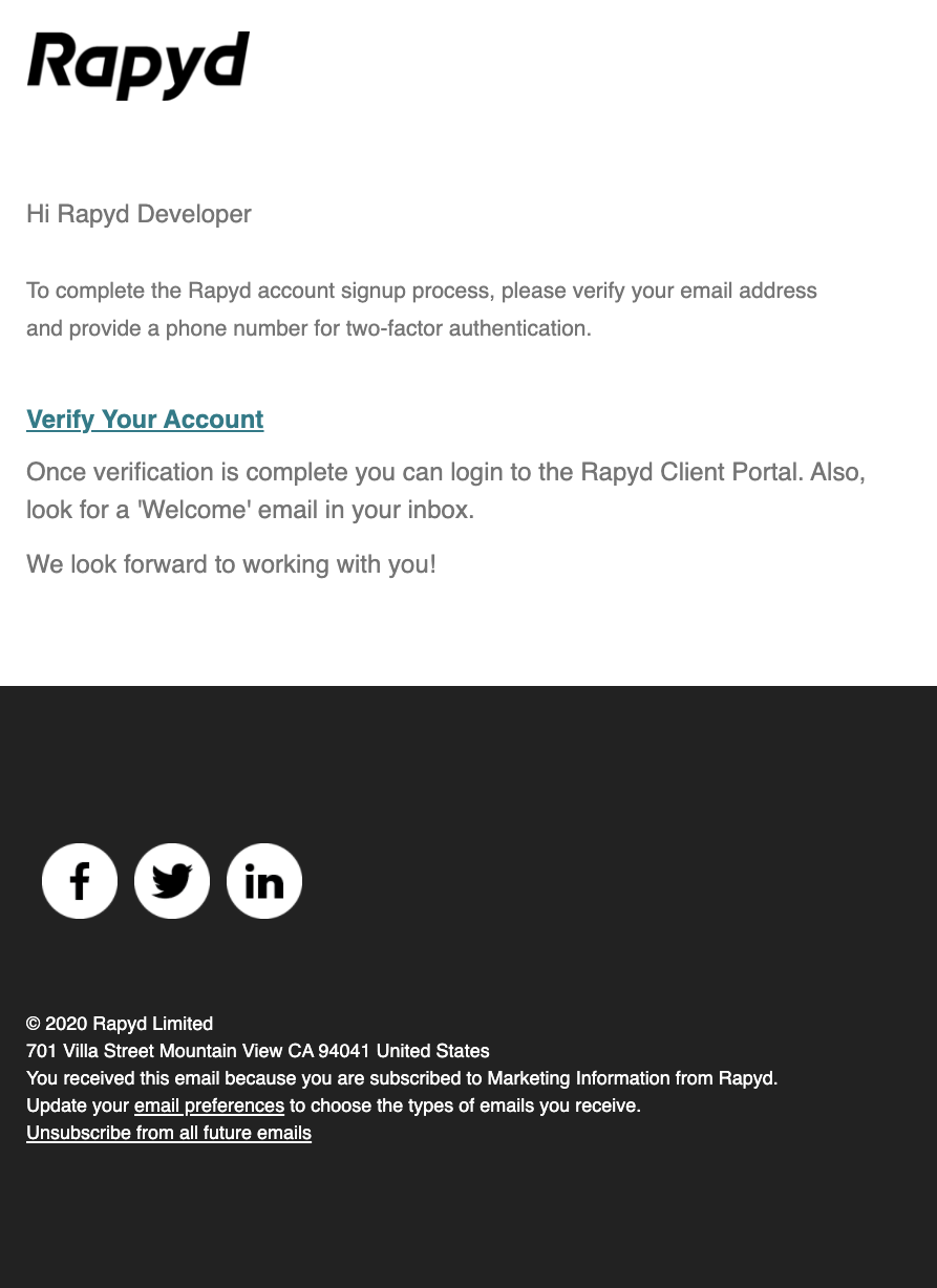 Rapyd email