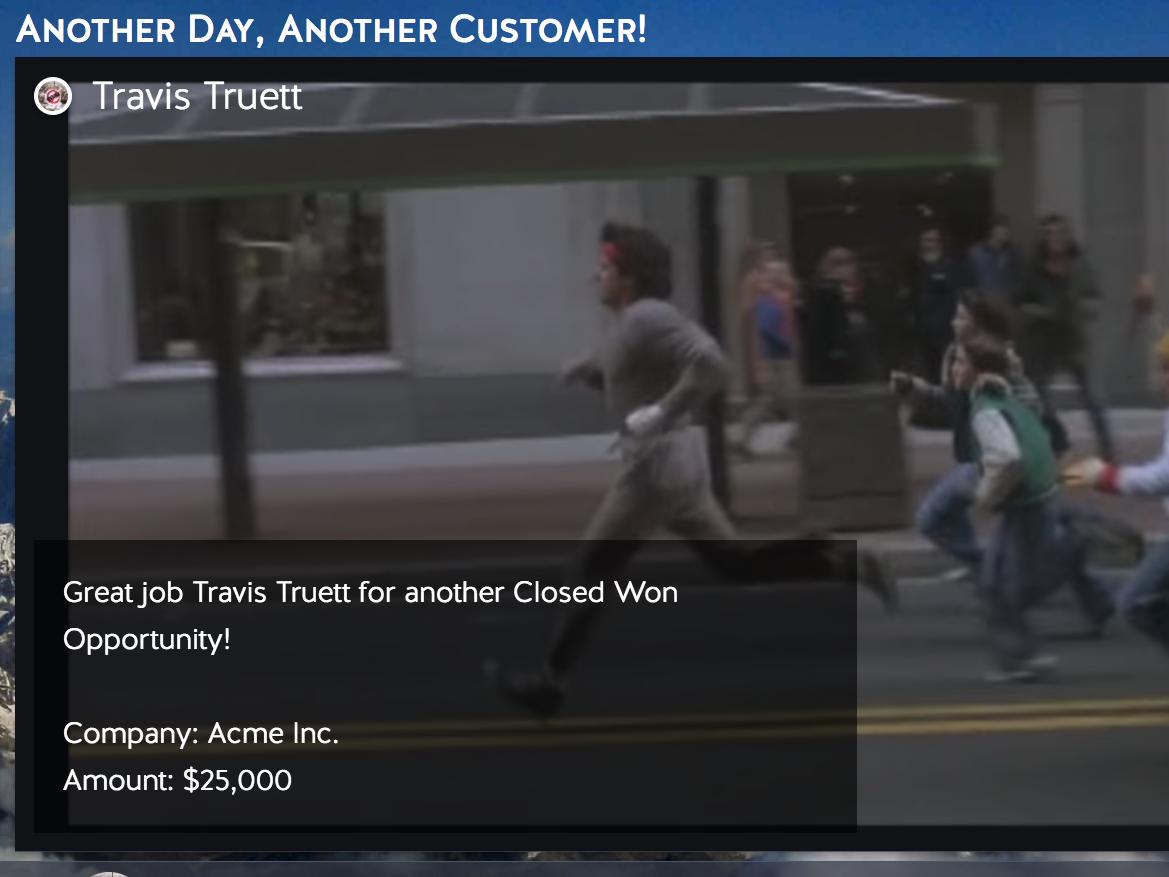 sales tv notifications