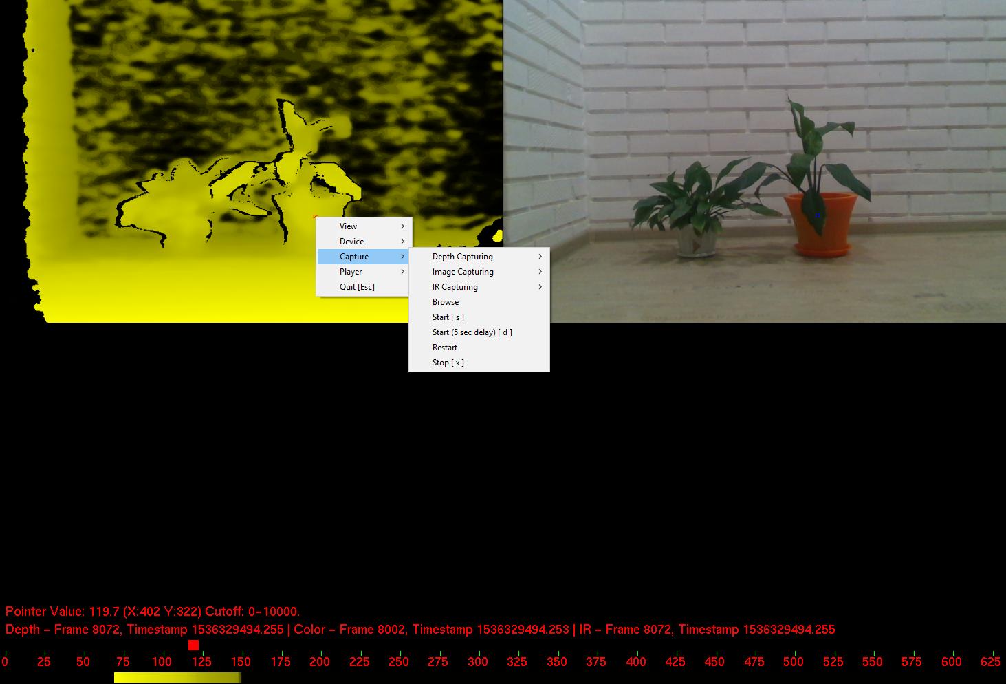 Configuring capture