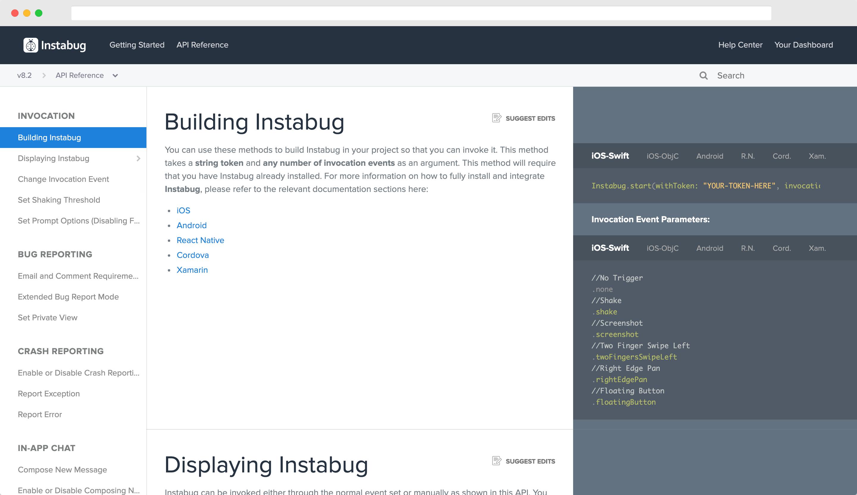 Instabug API Reference