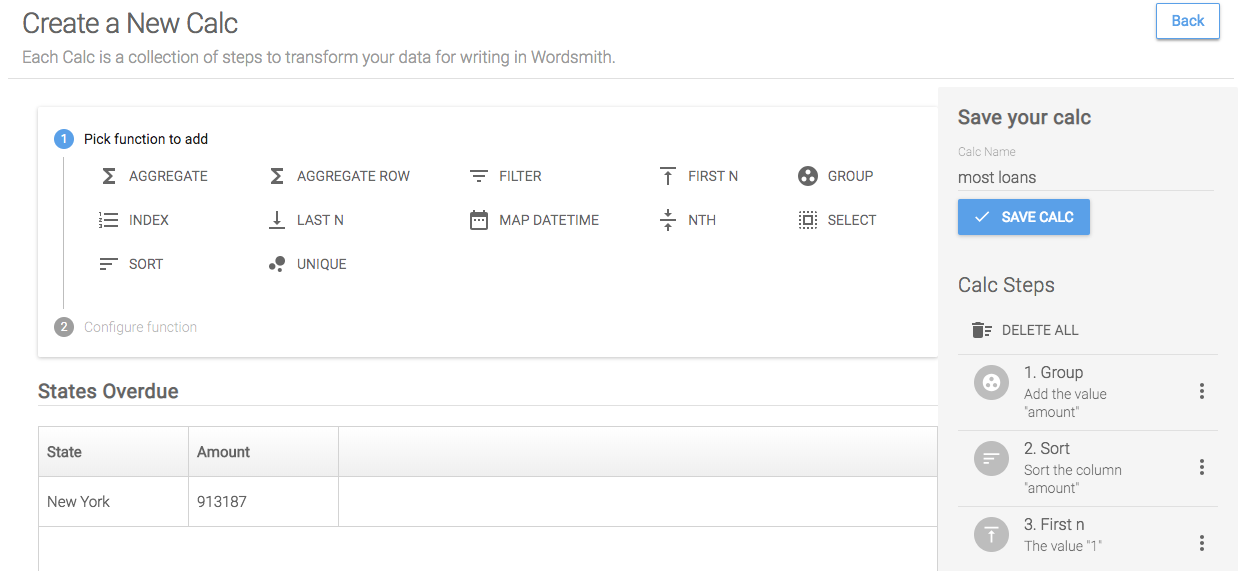 Writing Your First Insight with Wordsmith for Tableau