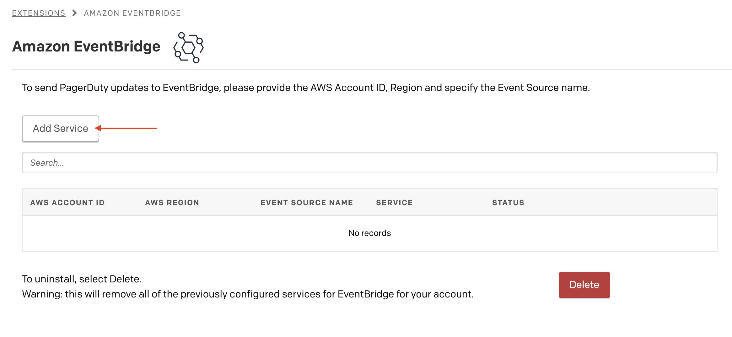 Amazon EventBridge Integration Guide   PagerDuty