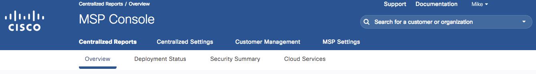 Welcome to Cisco Umbrella for MSPs