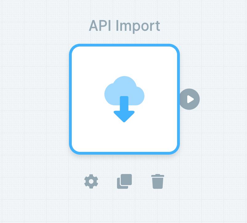 API Import source