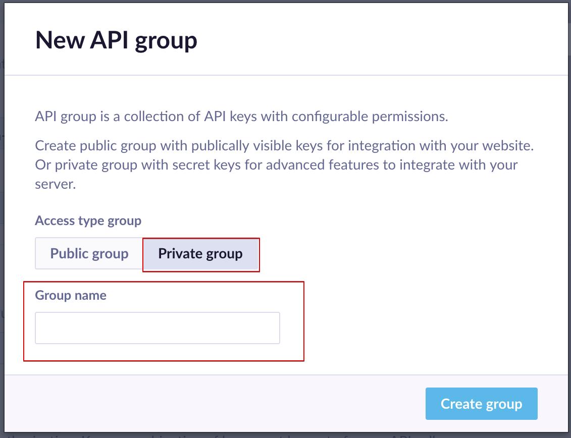 The New API group weblayer