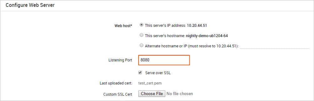 Uploading Custom Ssl Certificates