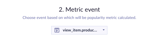 Example of event picker based on view_item.