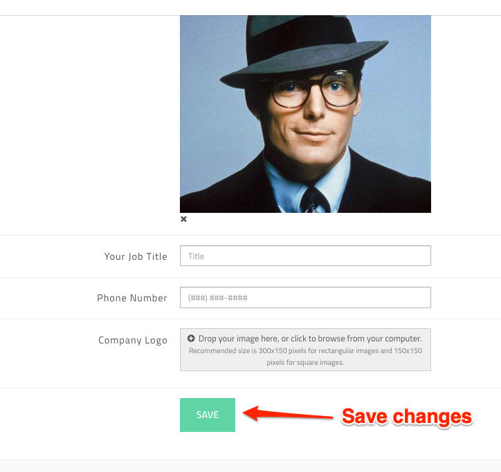 Save changes.