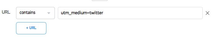 This conversation will launch for any URLs that contain &utm_medium=twitter (eg: mylandingpage.com/pricing?utm_medium=twitter)