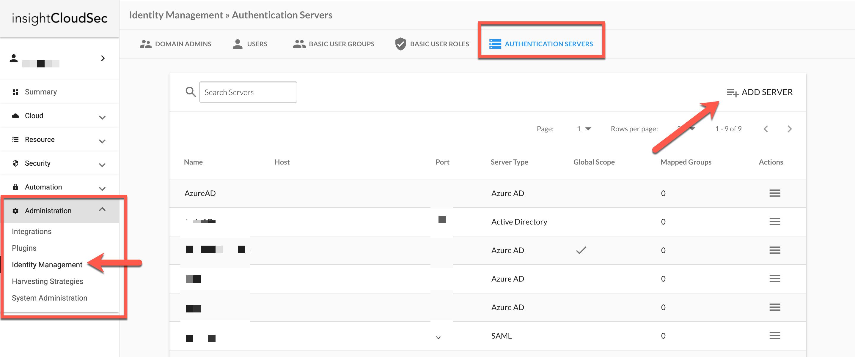 Identity Management - Authentication Servers