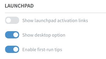 Run full desktops · Frame Documentation