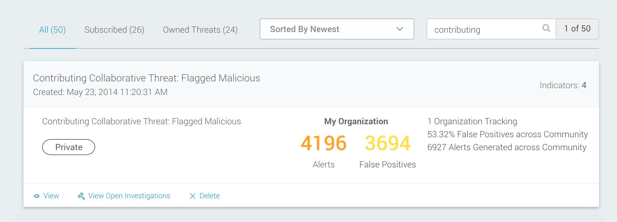 Use the Threat API