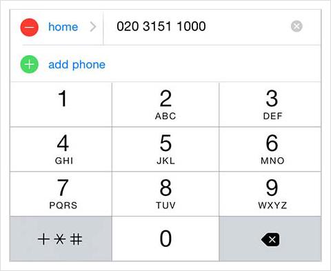 Type your TTNC number