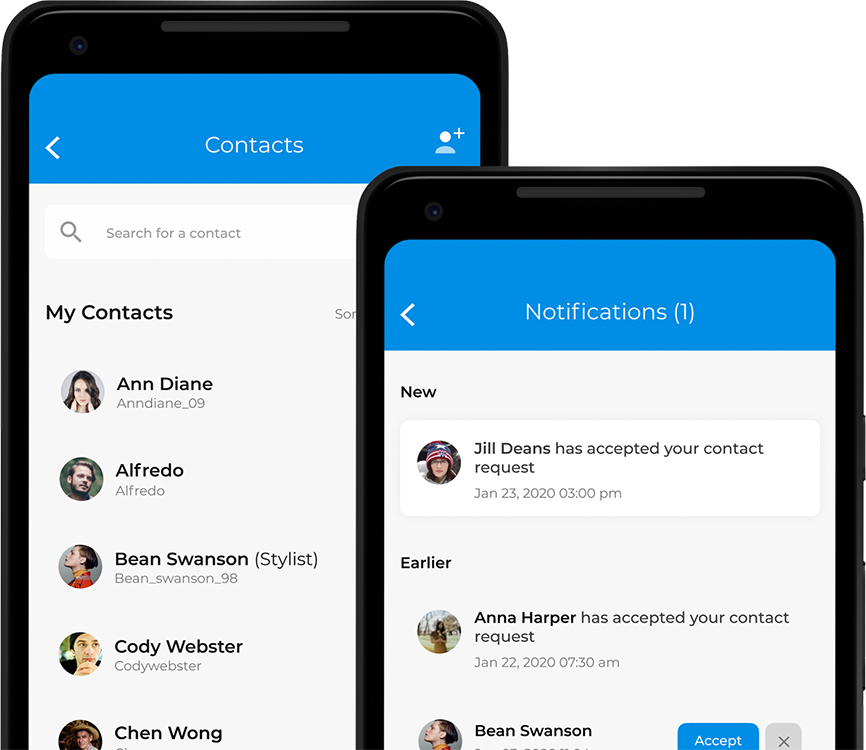 Contact-based Wallet