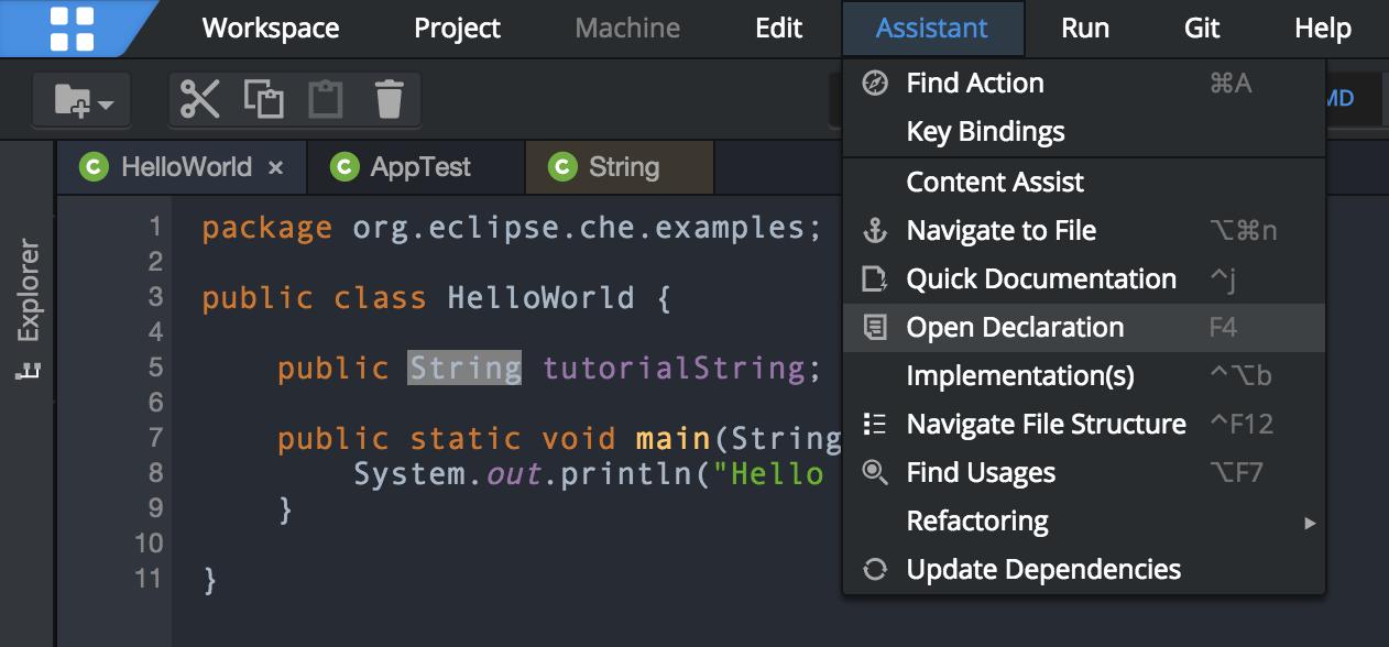 Tutorial: Java and Maven in Eclipse Che - DZone Java