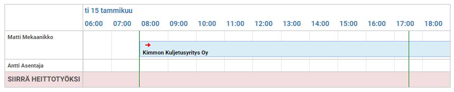 Varaus alkaa tiistaina 15.1. klo 8:00 ja loppuu ke 16.1. klo 13:30.