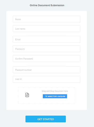 Example Web Form