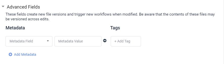 Metadata and Tags