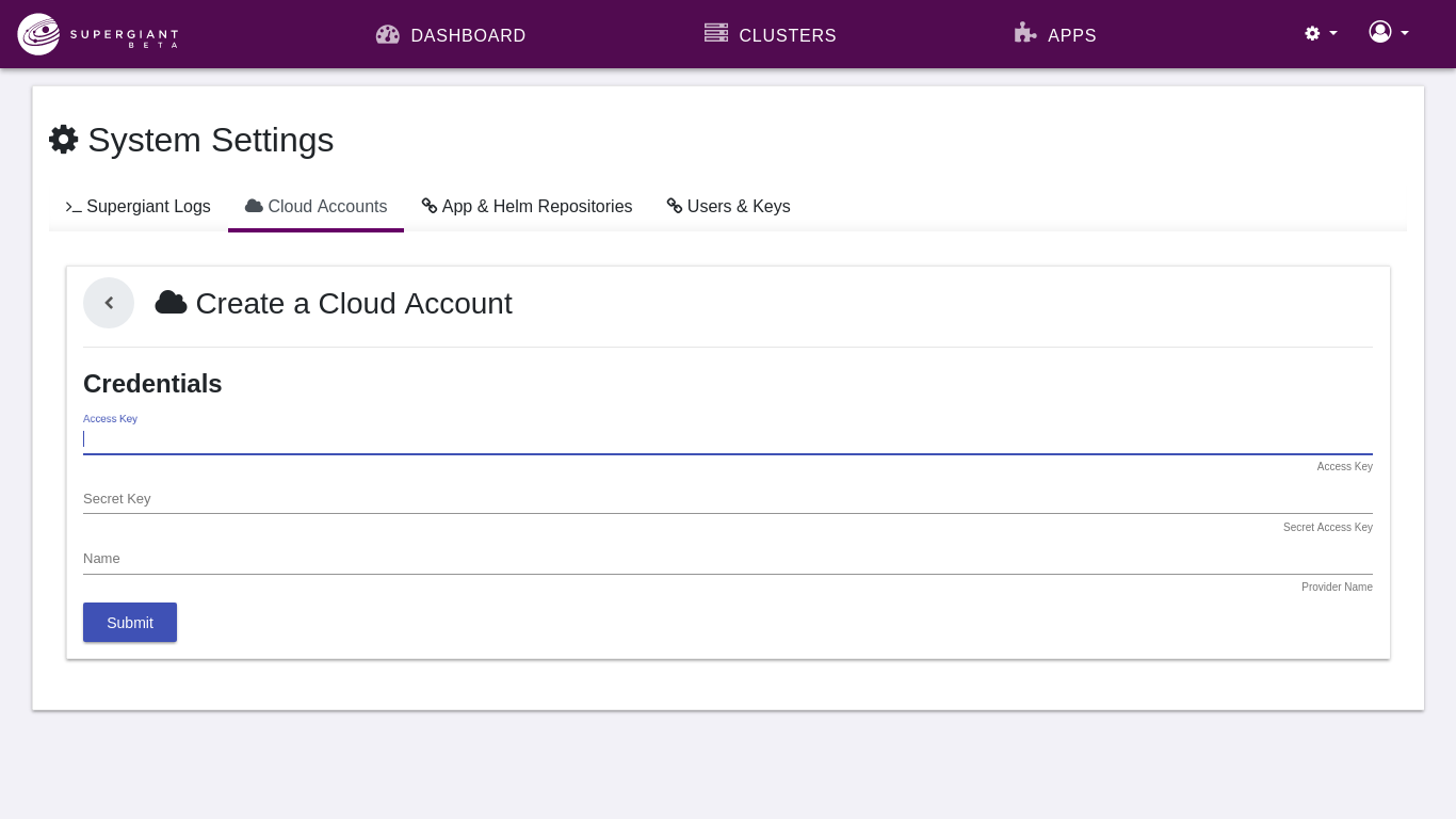 Linking Cloud Accounts