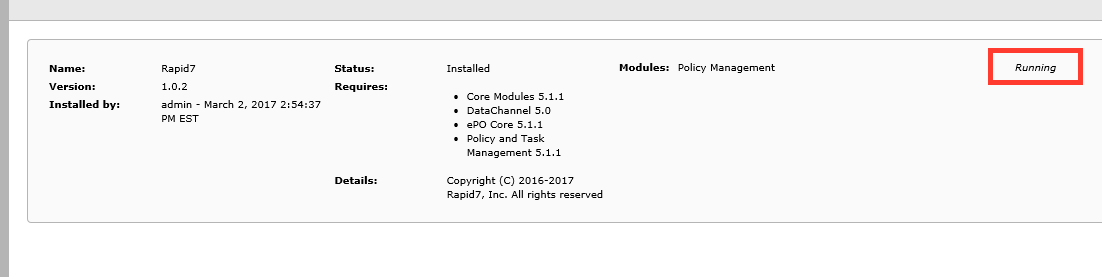 Insight Agent installation guide for McAfee ePO users