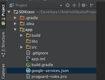 Adding config file to app folder
