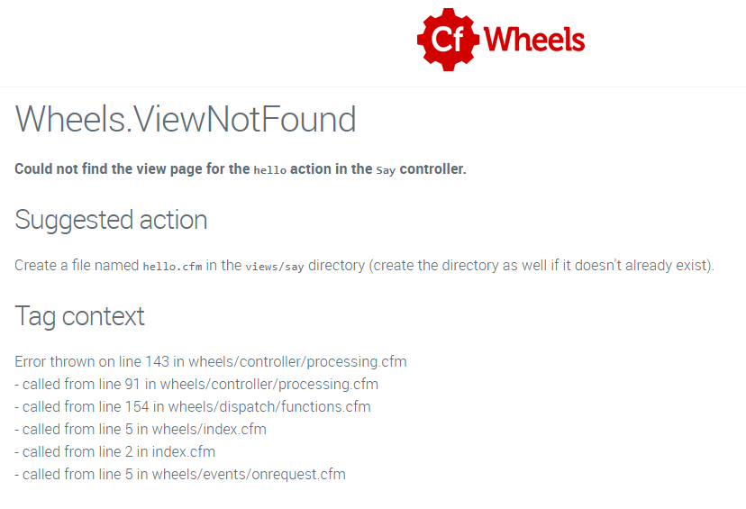 Figure 2: Wheels error after setting up your blank say controller