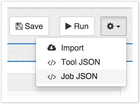 </> Job JSON