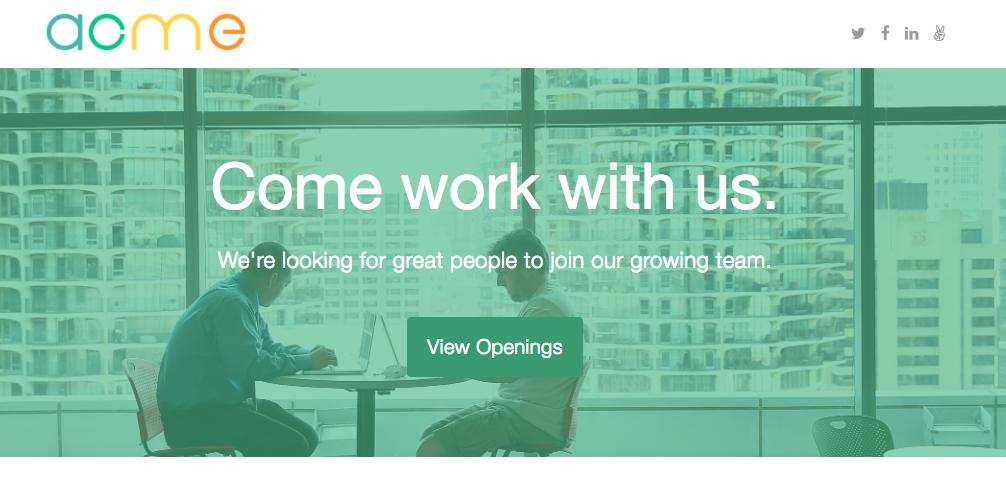 Customizing your Career Portal on