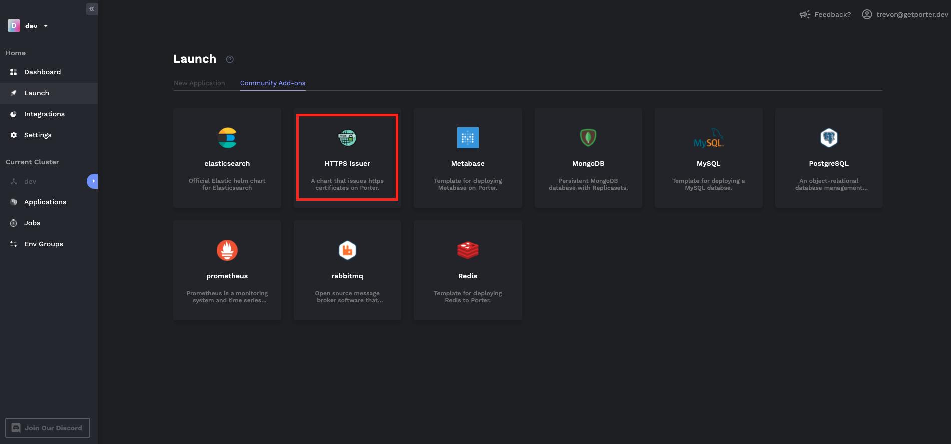 HTTPS issuer deployment