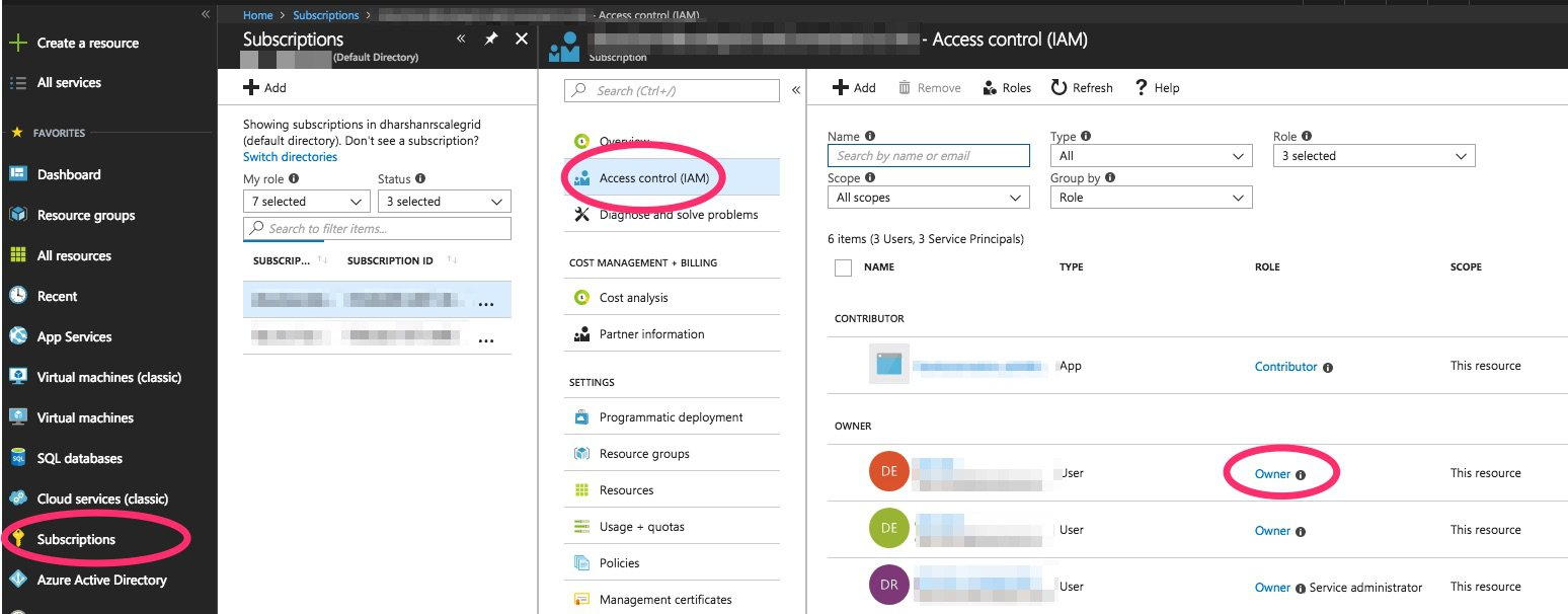 Setup an Azure (ARM) Cloud Profile