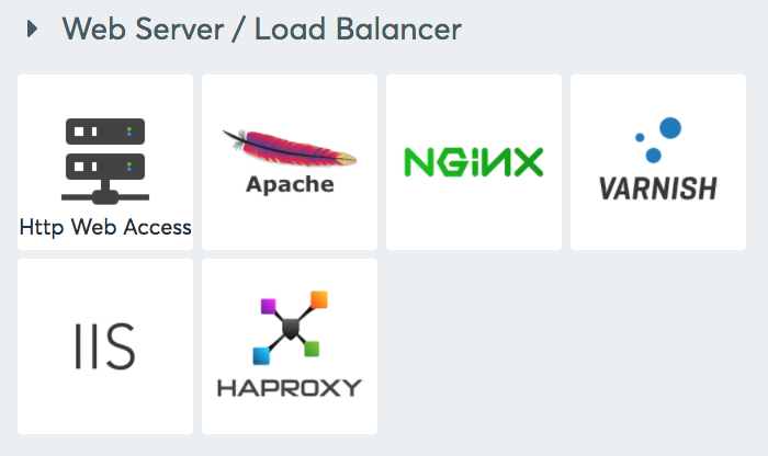 Web Server / Load Balancer integrations