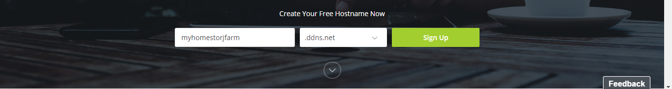 *Figure 3.3. Adding our own hostname.*