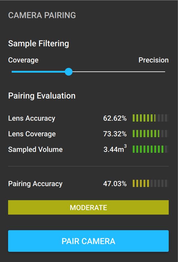 Moderate Camera Pairing