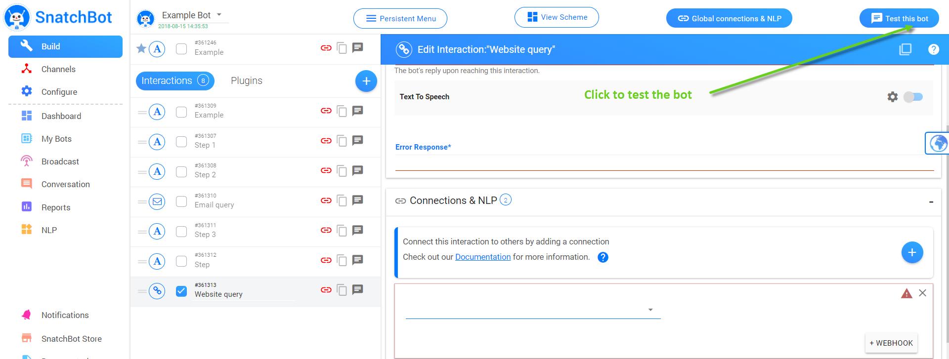 Getting Started - Bots Platform Documentation